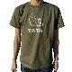 ベーシックTシャツ/フェイス/カーキ /XS-XL