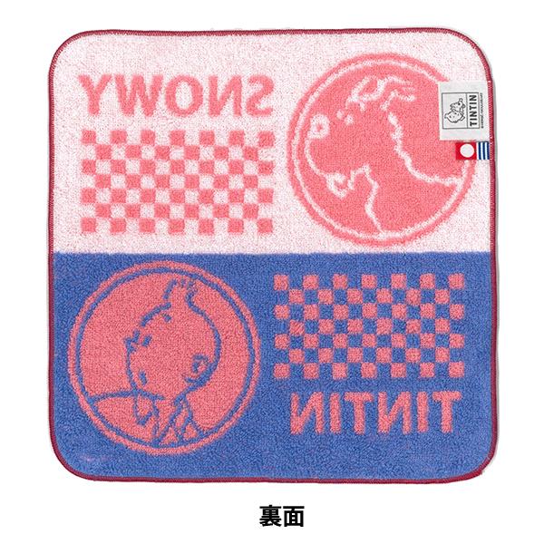 ミニタオル/T&SブロックA/ピンク