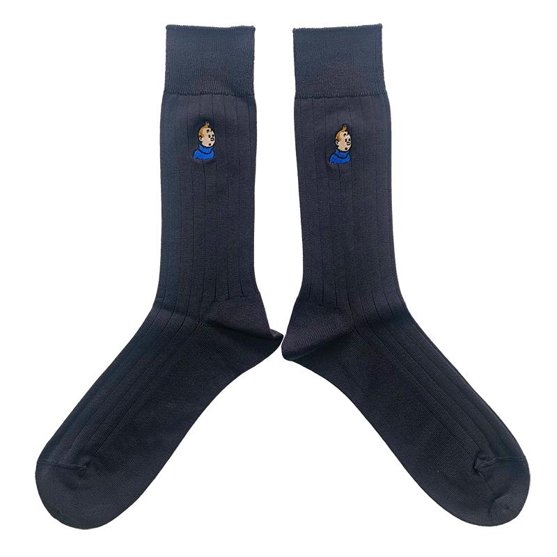 靴下 / ビジネス / タンタン / チャコールグレー