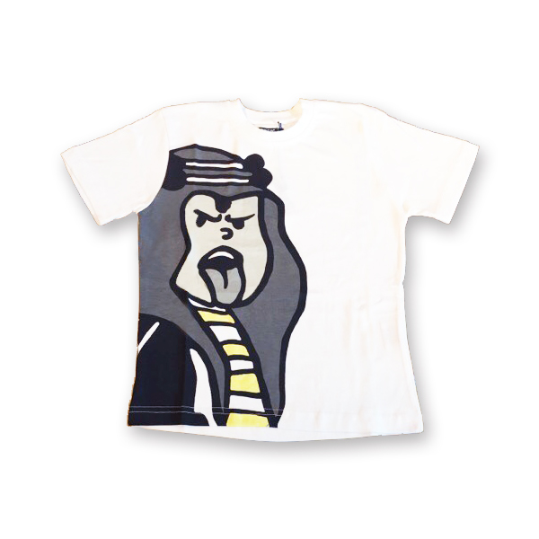 kidsポートレートTシャツ/アブダラー/ 4-8A