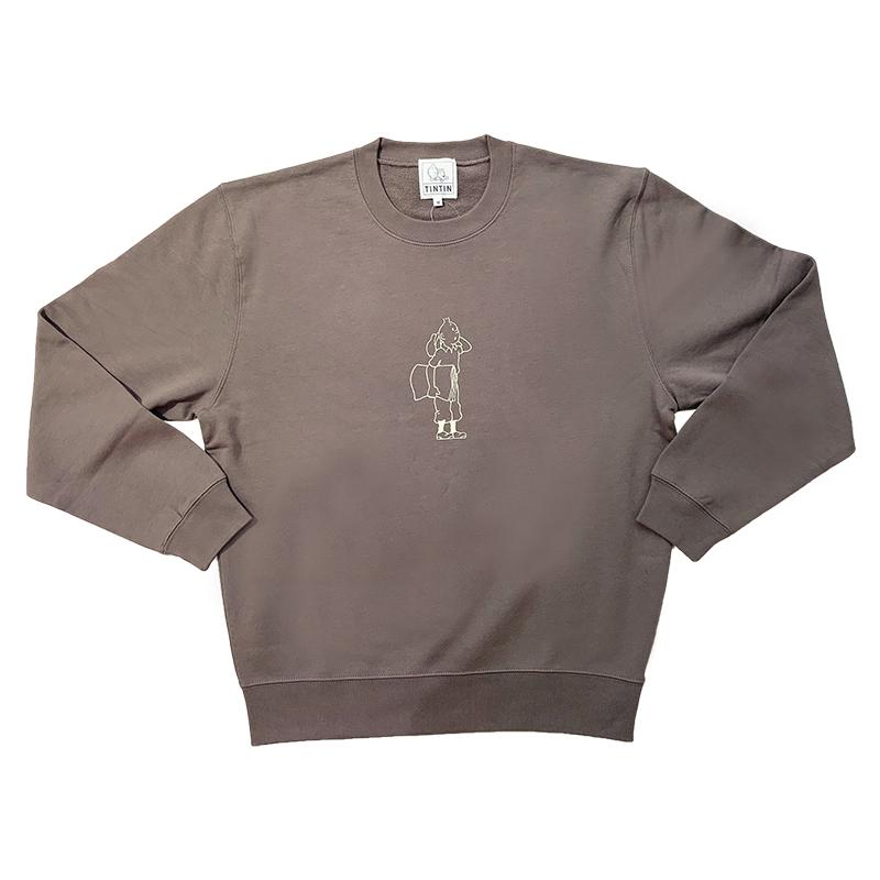 スウェットシャツ/タンタンNP/チャコール/S-XL