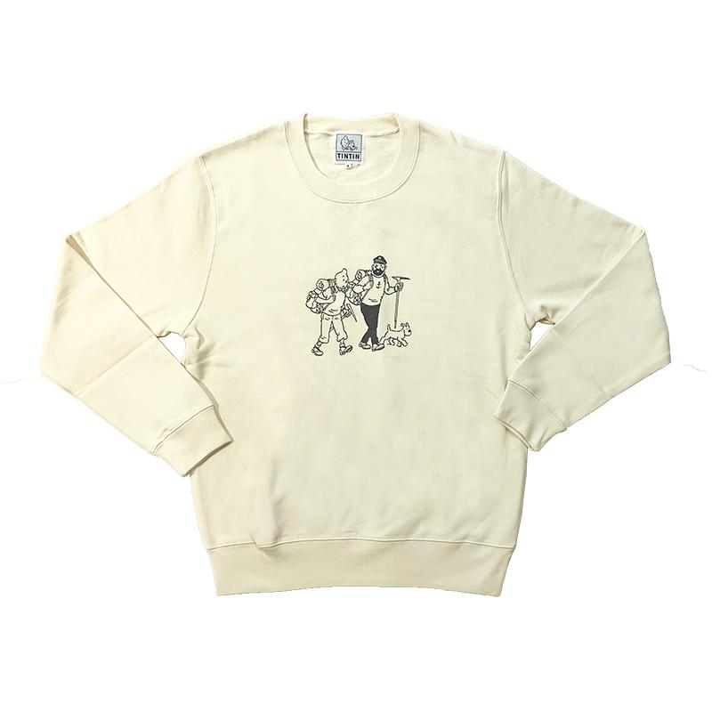スウェットシャツ/T&S&H/クリーム/S-XL
