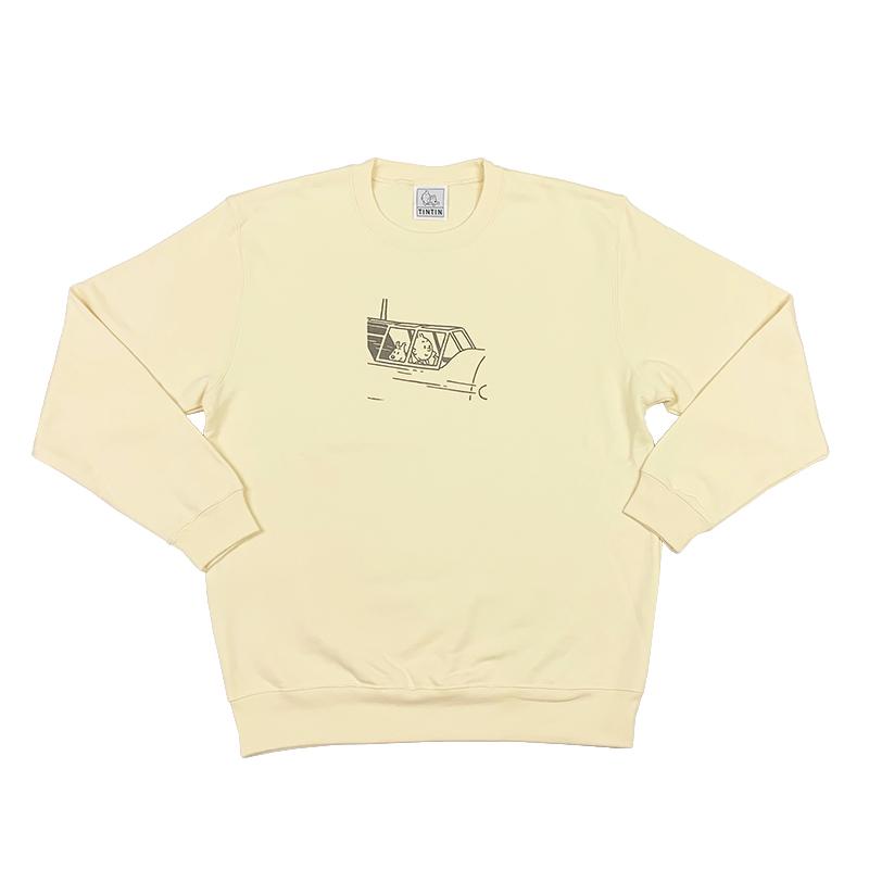 スウェットシャツ/PLANE/クリーム/S-XL
