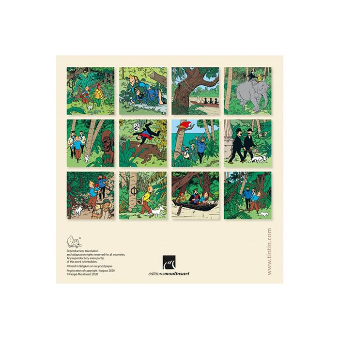デスクカレンダー/アコーディオン/2021