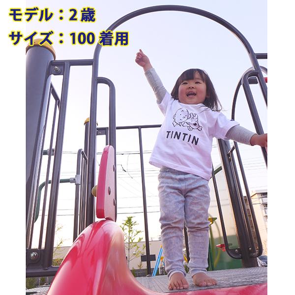 KIDS ベーシックTシャツ/フェイス/ブラック 100/120/130/140