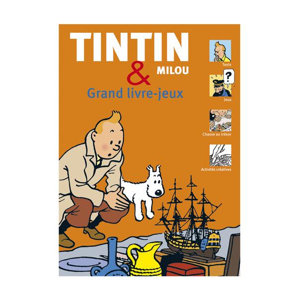 TINTIN & MILOU/TINTIN GRAND LIVRE JEUX
