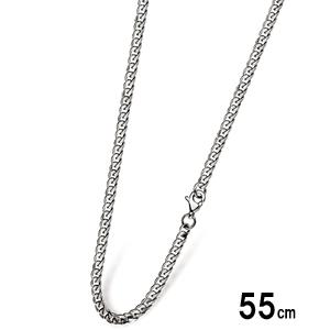 サージカル ステンレス スチール 316L チェーン ネックレス 55cm 喜平チェーン 3.5mm  ジュエリー 通販 ギフト 絆