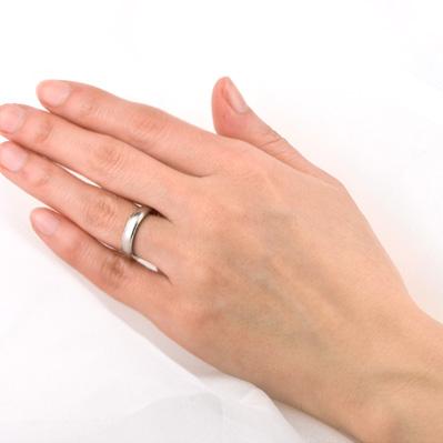 チタン 単品 リング 結婚指輪  プラチナイオンプレーティング加工商品 金属アレルギー対応