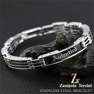 サージカルステンレススチール(316L) メンズ ブレスレット/バングル (ZTB1900) Zanipolo Terzini(ザニポロ・タルツィーニ)【送料無料】 絆