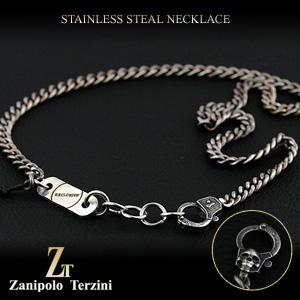 サージカル ステンレス スチール(316L) メンズ ネックレス (ZEXP0019)(Zanipolo Terzini(ザニポロ・タルツィーニ))【送料無料】ジュエリー 通販 ギフト