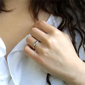TITAN(純チタン) アクアマリン(3月の誕生石) リング【送料無料】 指輪 金属アレルギー 安心 チタン 誕生石 リング