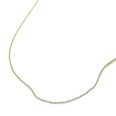 純チタン ネックレス チェーン 40cm (ゴールド イオン プレーティング加工) あずきチェーン 金属アレルギー対応で安心 通販 ギフト プレゼント 安心