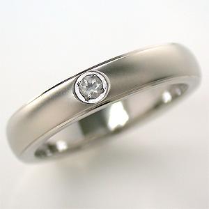 TITAN(純チタン) ムーンストーン(6月の誕生石) リング【送料無料】 指輪 金属アレルギー 安心 チタン 誕生石 リング