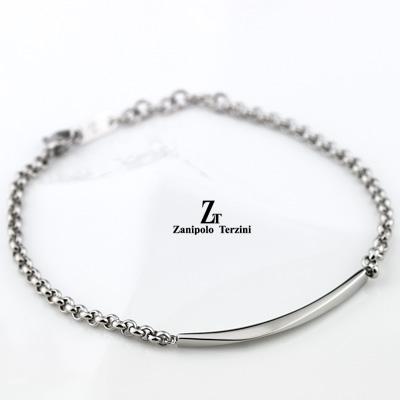 ペアブレスレット ダイヤモンド サージカル ステンレススチール(316L)  (ZTB415)(Zanipolo Terzini(ザニポロ・タルツィーニ))【数量限定】【送料無料】 通販 絆 ペア ペアバングル ペアブレスレット