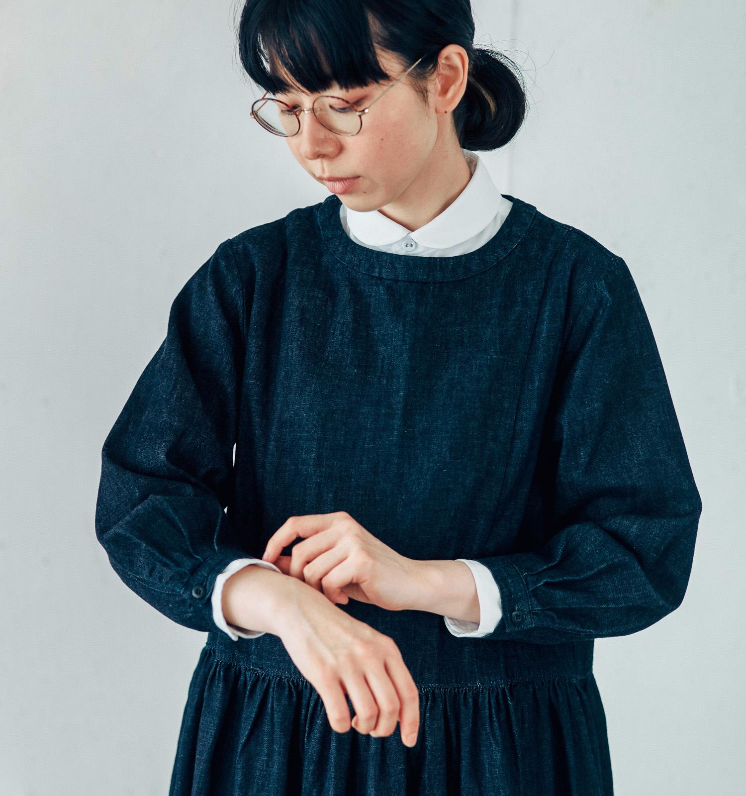 丸襟シャツ GRANDMA MAMA DAUGHTER