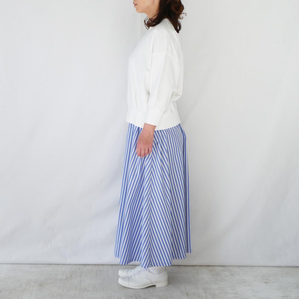 ストライプロングフレアースカート - GRANDMA MAMA DAUGHTER