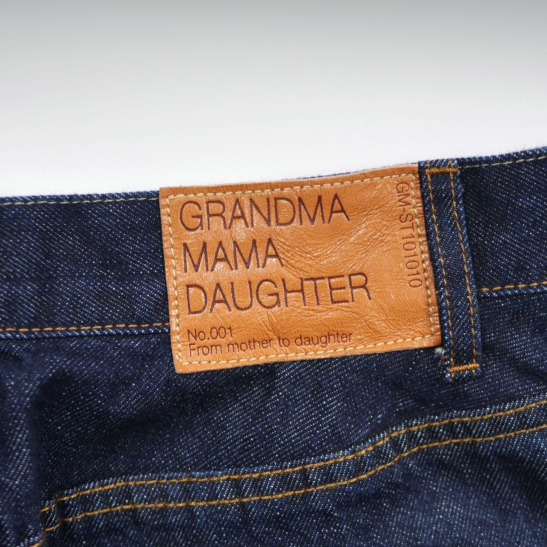 5ポケットコクーンデニム GRANDMA MAMA DAUGHTER