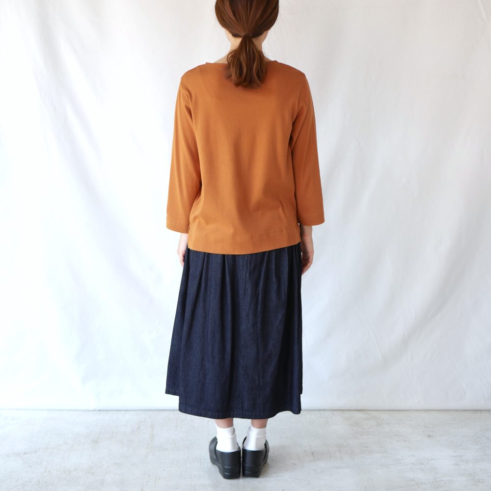 B/N七分袖T- GRANDMA MAMA DAUGHTER