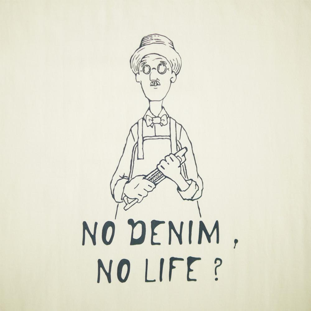 NO DENIM NO LIFE TEE - KATO`