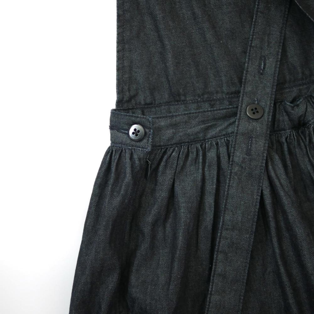 デニムエプロンギャザースカート- GRANDMA MAMA DAUGHTER