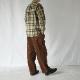スタンドカラーチェックシャツ - KATO`