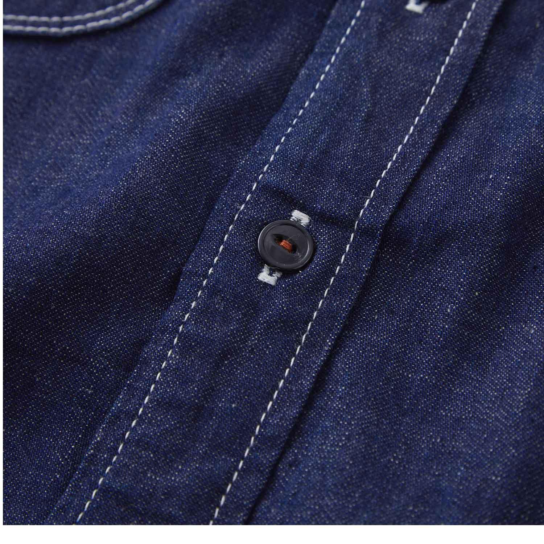 デニムワークシャツ KATO`