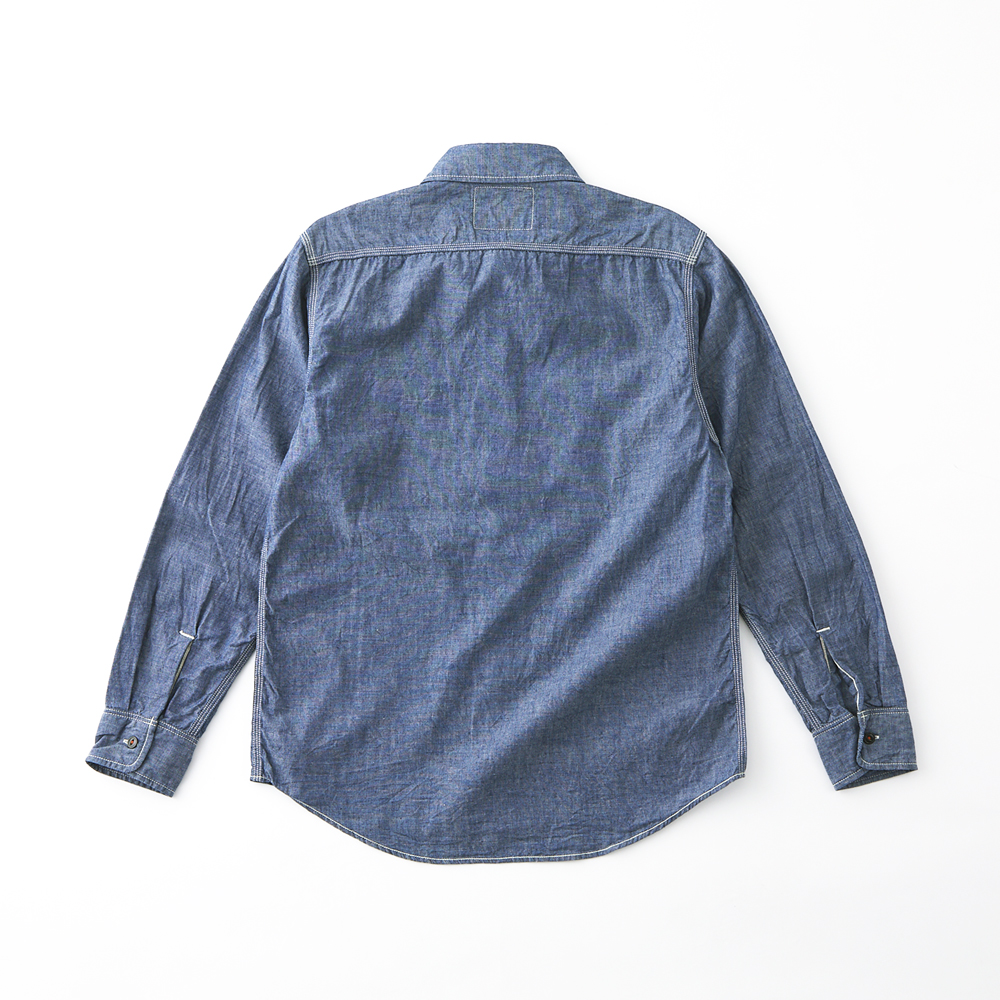 シャンブレーワークシャツ - AAA
