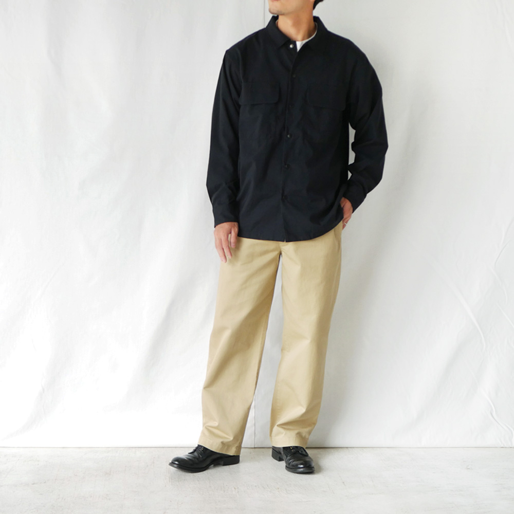 ナイロンオックスCPOシャツ - KATO`