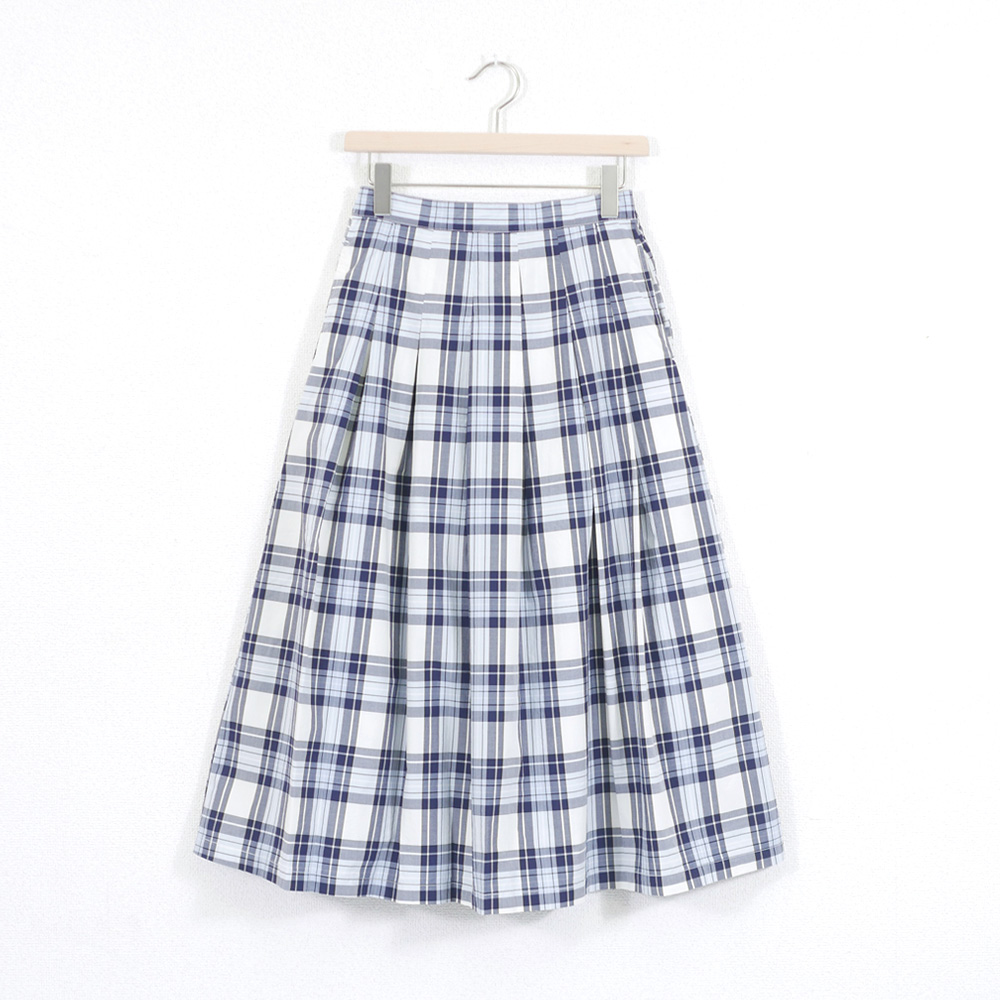 マドラスボックスタックロングスカート - GRANDMA MAMA DAUGHTER
