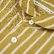 【通常価格¥16,500】リネンストライプラウンドカラーシャツ - GRANDMA MAMA DAUGHTER