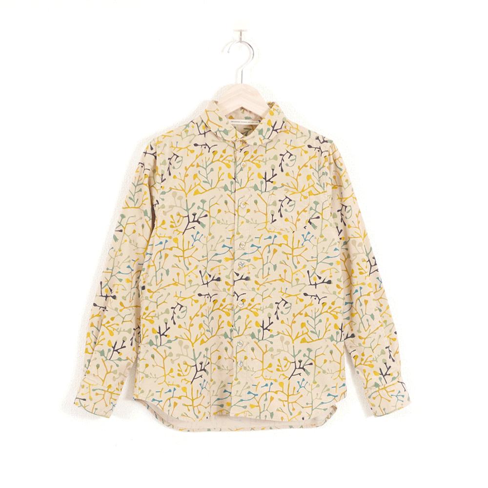 TSUTAKUSA ラウンドカラーシャツ - GRANDMA MAMA DAUGHTER