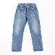 Vintage Back Flap Pocket Straight Denim Pants KATO`