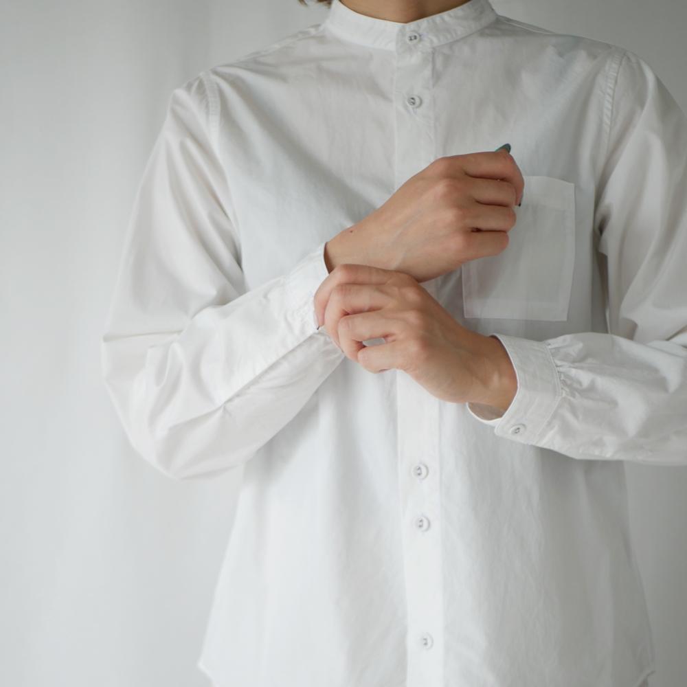 スタンドカラーシャツ-GRANDMA MAMA DAUGHTER