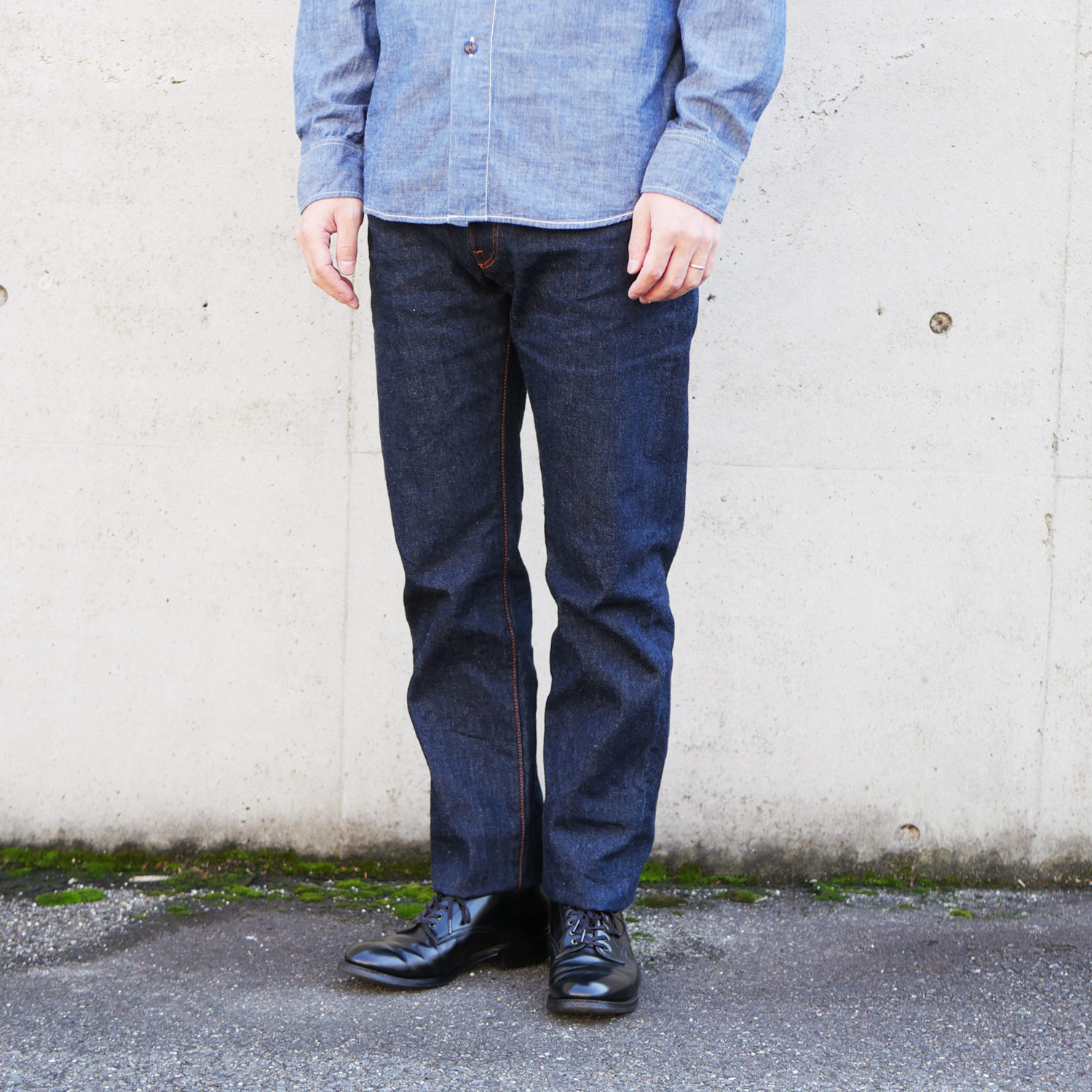 5Pocket Narrow Straight Fit KATO`