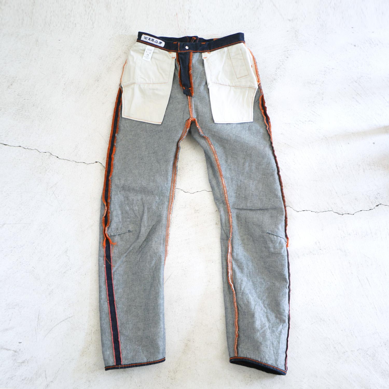 3D Denim Pants KATO`