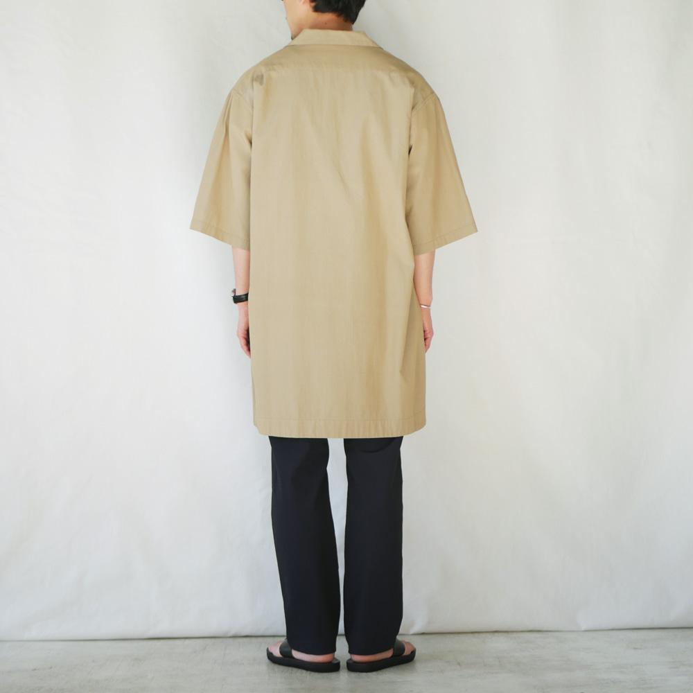 ロングオープンカラーシャツ - KATO`