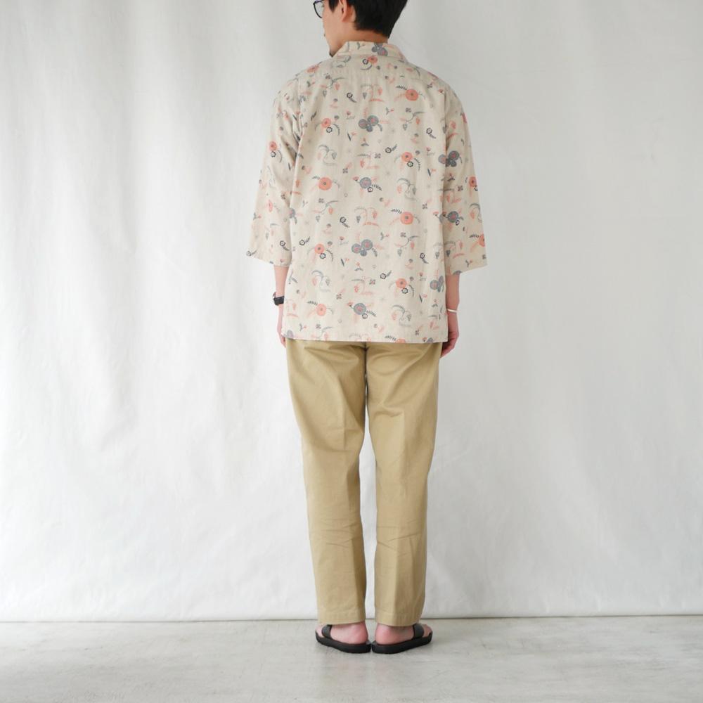 【通常価格¥16,500】MICHIKUSA オープンカラーシャツ KATO`