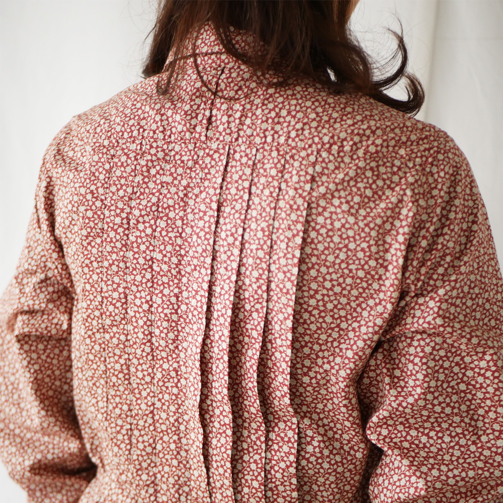 【通常価格¥35,200】ペルヴィアンピマタックシャツワンピース GRANDMA MAMA DAUGHTER