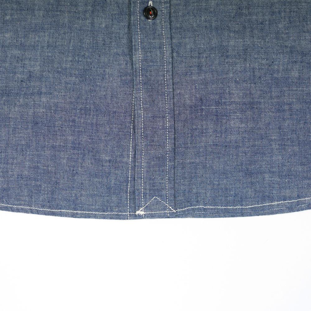 シャンブレー半袖シャツ - KATO` BASIC