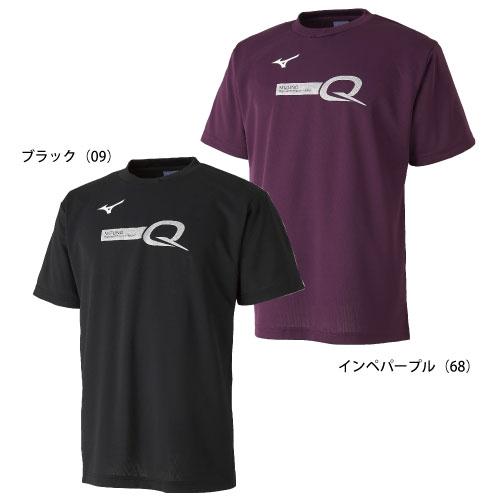 【在庫処分超特価】QシリーズTシャツ(ブラック・Sサイズ)
