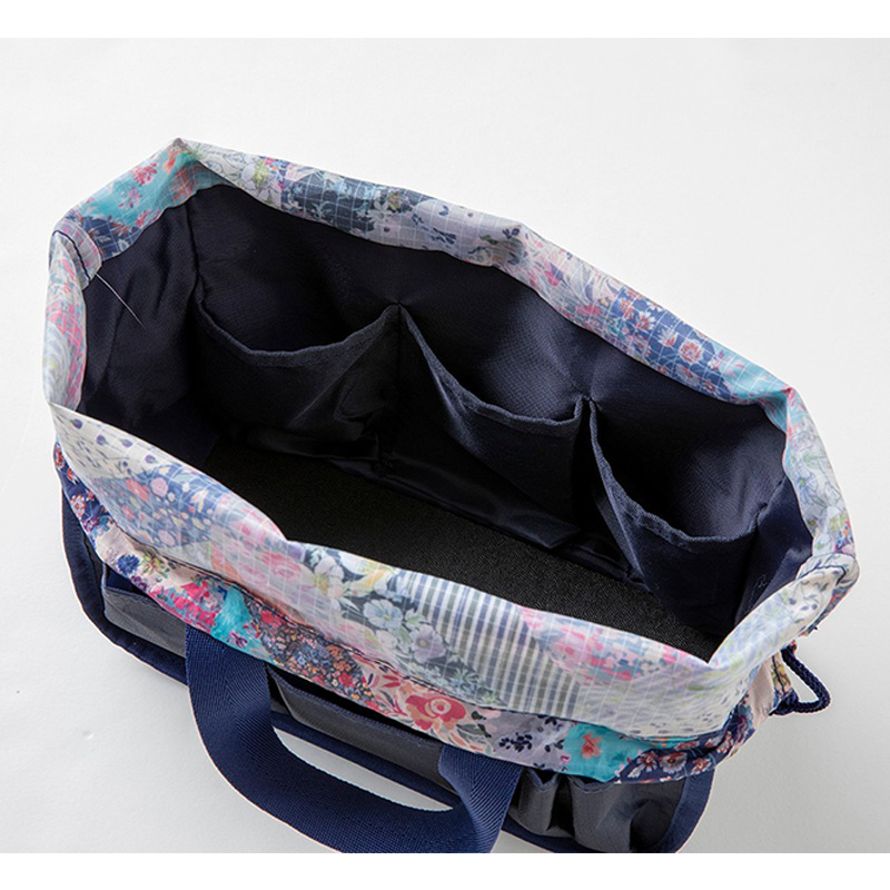 LESPORTSAC COLLECTION BOOK MULTI BOX/MEMORY FLORAL QUILT