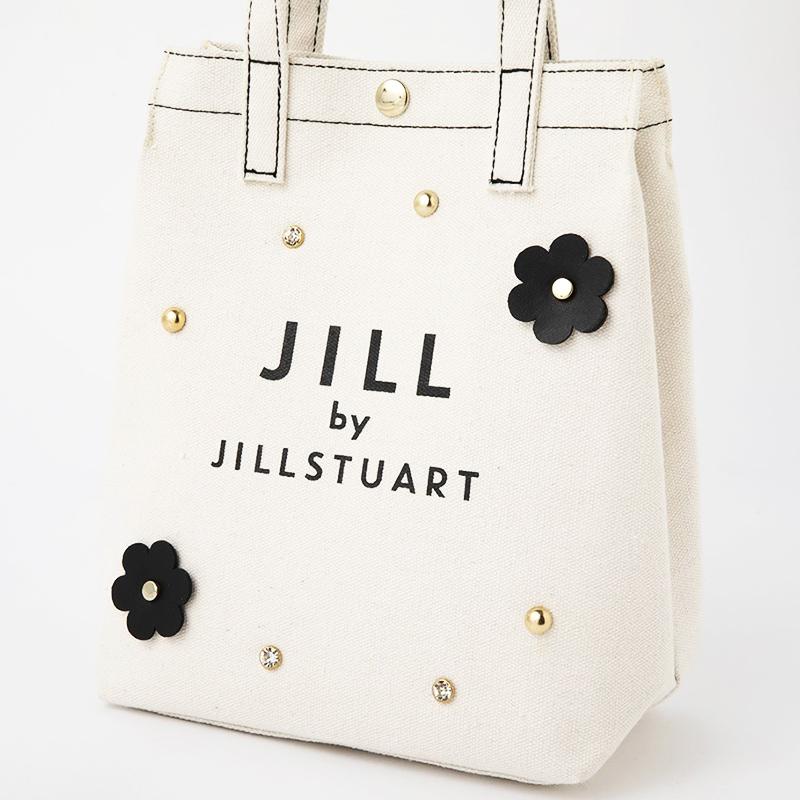 JILL by JILLSTUART 2WAY FLOWER SHOULDER BAG BOOK WHITE