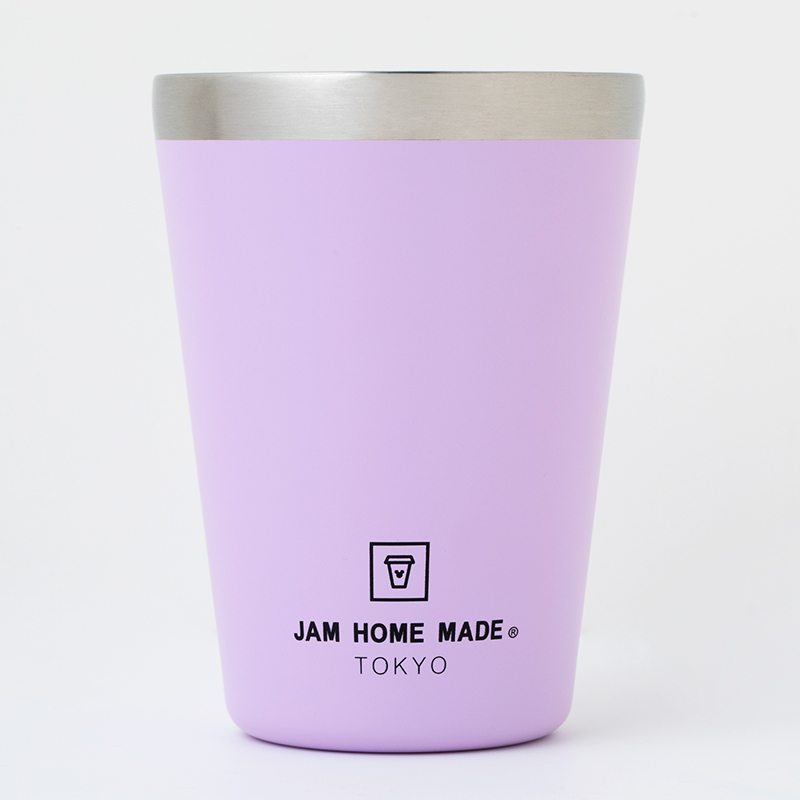 CUP COFFEE TUMBLER BOOK produced by JAM HOME MADE PURPLE with MICKEY