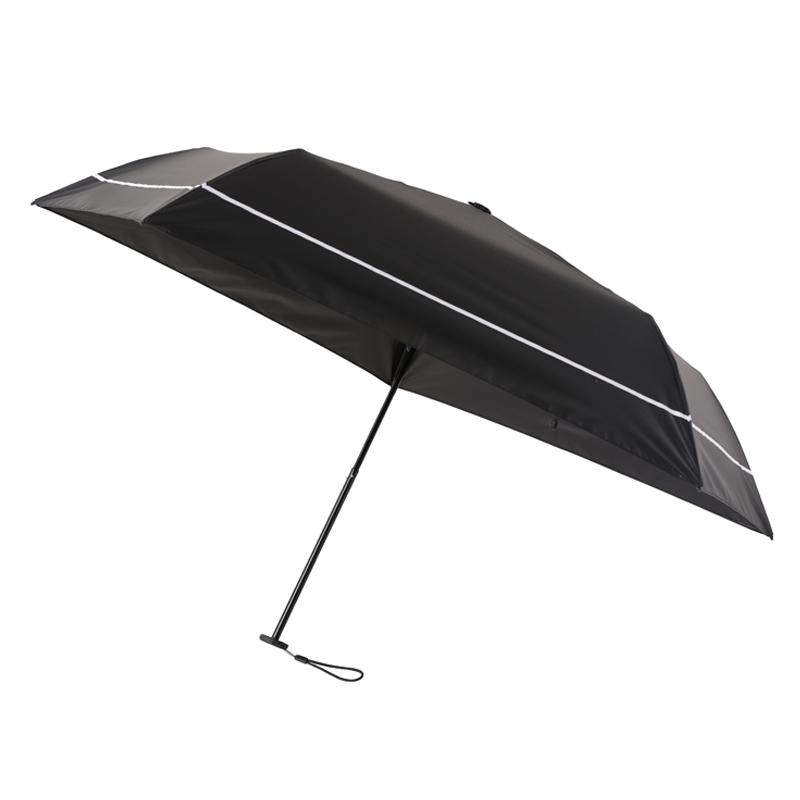 SUN DEFENCE UMBRELLA 100%遮光日傘BOOK(BLACK)
