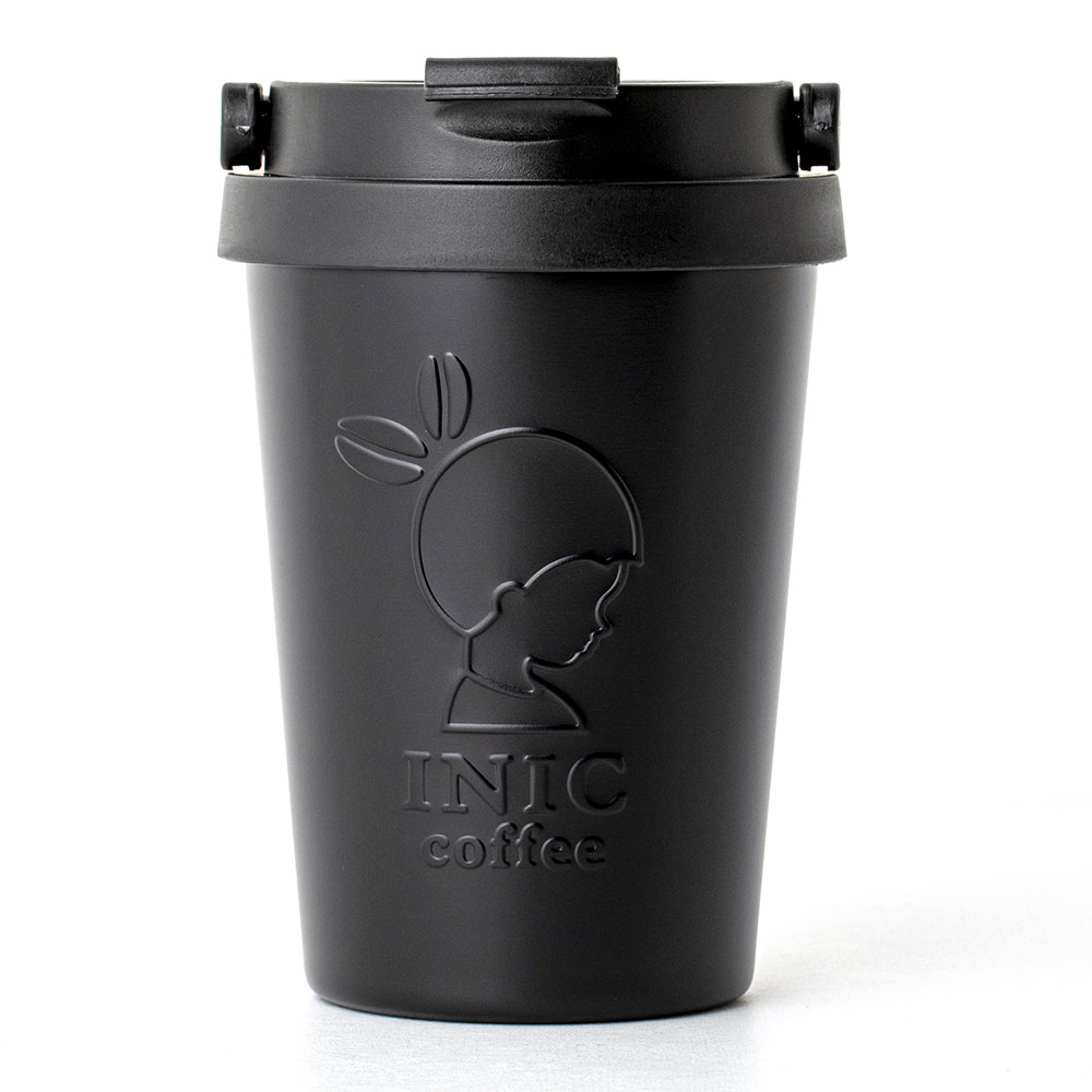 INIC coffee 真空断熱ステンレスタンブラーBOOK BLACK:8/17発売【ファミリーマート限定付録】イニックコーヒー 真空断熱ステンレスタンブラー(ブラック)