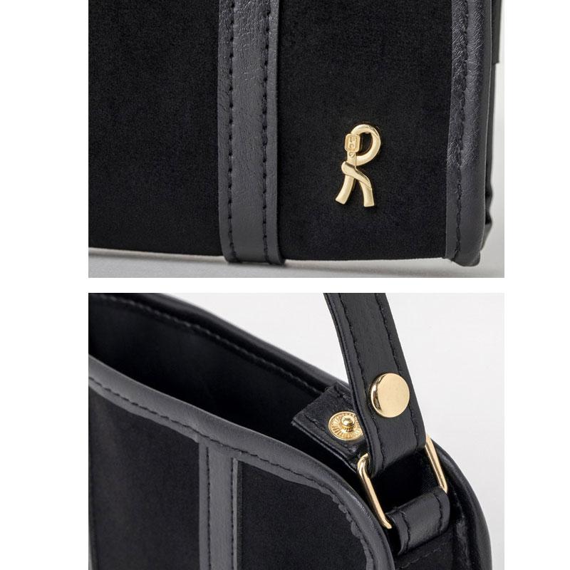 ROBERTA DI CAMERINO SHOPPING BAG & POUCH BOOK BLACK ver.