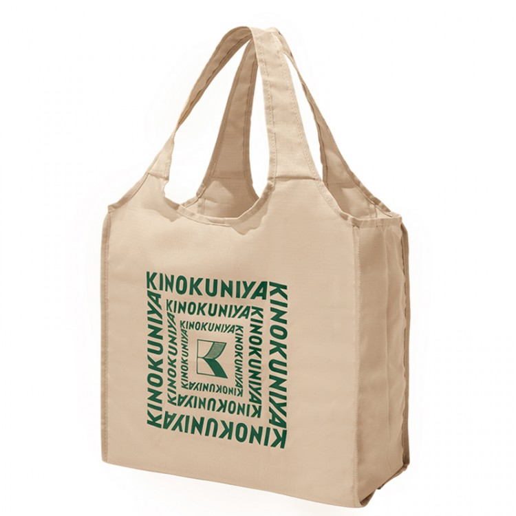 KINOKUNIYA BIG SHOPPING BAG BOOK BEIGE ver.
