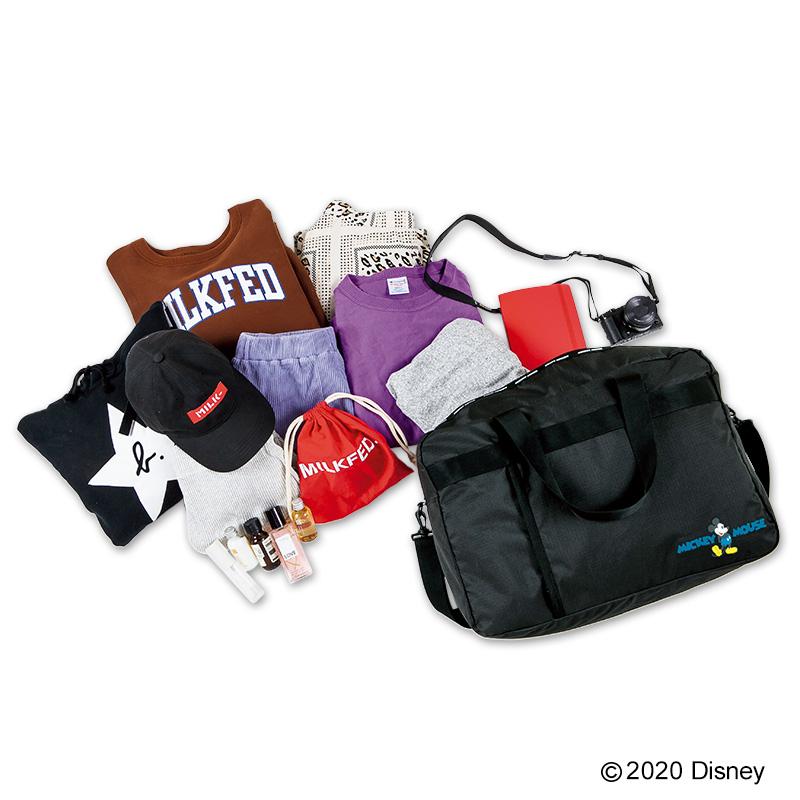 Disney MICKEY MOUSE BIG BOSTON BAG BOOK Special ver.