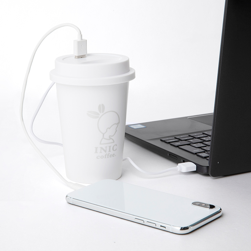 INIC coffee 加湿器 BOOK WHITE ver.
