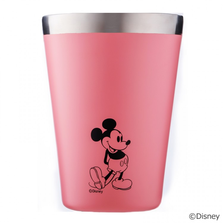 CUP COFFEE TUMBLER BOOK produced by JAM HOME MADE PINK with MICKEY